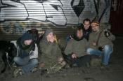 Brüksel'de Avusturyalı Sırtçantalılar (Austrian Backpackers in Brussels)
