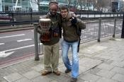 Londra'da Sokak Müzisyeni (Street Musician in London)